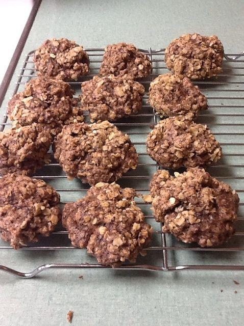 Cómo hacer galletas de chocolate y avena Receta