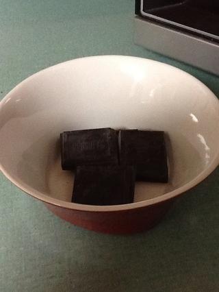 Derretir 2 onzas de chocolate