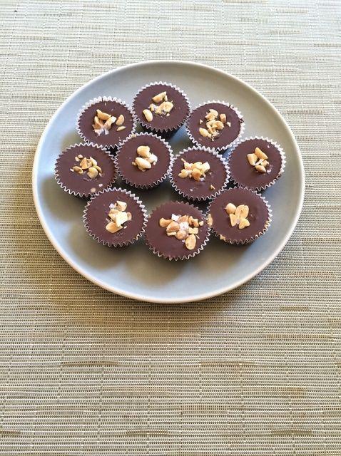 Cómo hacer chocolate Peanut Butter Cups Receta