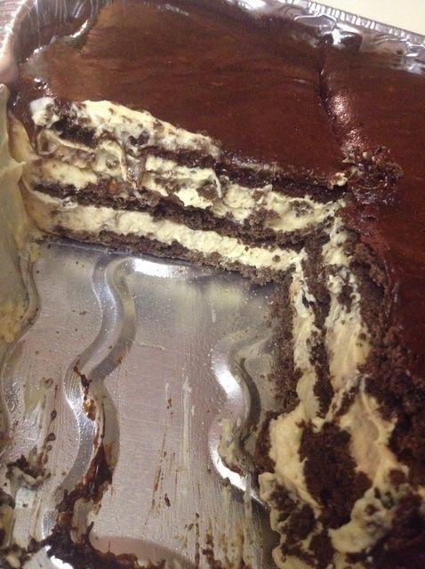 Cómo hacer mantequilla de cacahuete del Eclair Receta de la torta