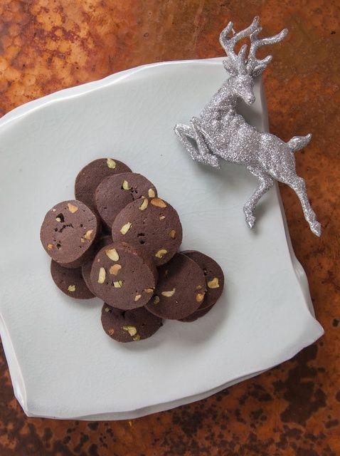 Cómo hacer chocolate Receta de las galletas de pistacho