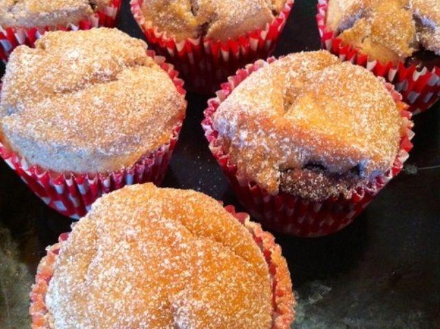 Cómo hacer canela Nutella Muffins! Receta
