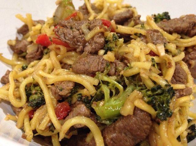 Cómo hacer Limpio Naranja Beef & Broccoli Stir Fry Receta