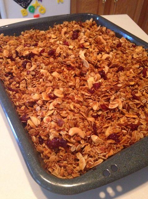 Cómo hacer de coco Almendra Granola Receta