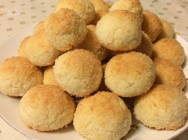 Cómo hacer bolas de coco Receta