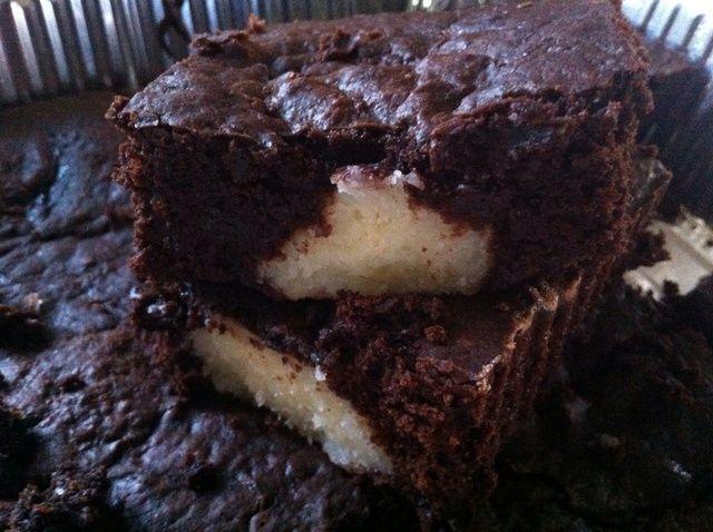 Cómo hacer Brownies de coco Receta