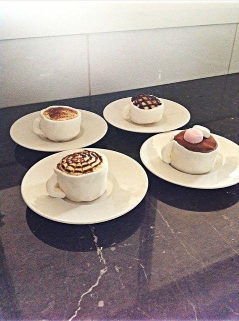 Cómo hacer café-Copa Cupcakes Receta