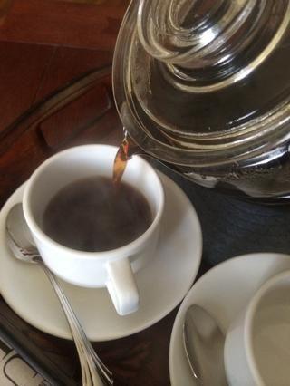 Este café se tarda unos 20 minutos para hacer de principio a fin. Si usted está en un apuro corriendo al trabajo, esto podría no ser para usted.