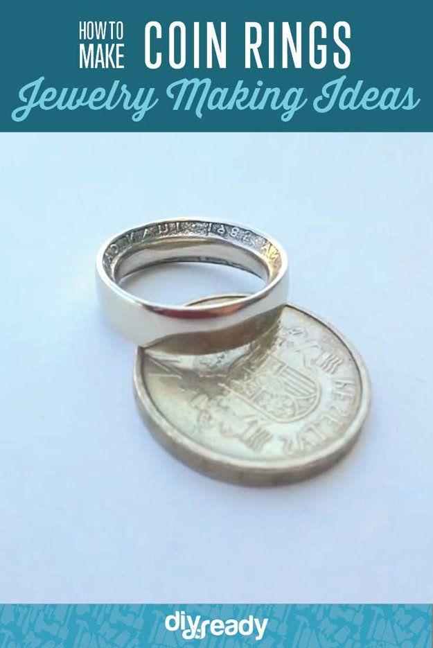 Fotografía - Cómo hacer monedas Anillos