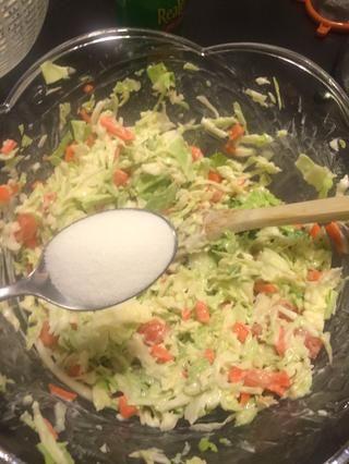 Añadir una cuchara llena de azúcar