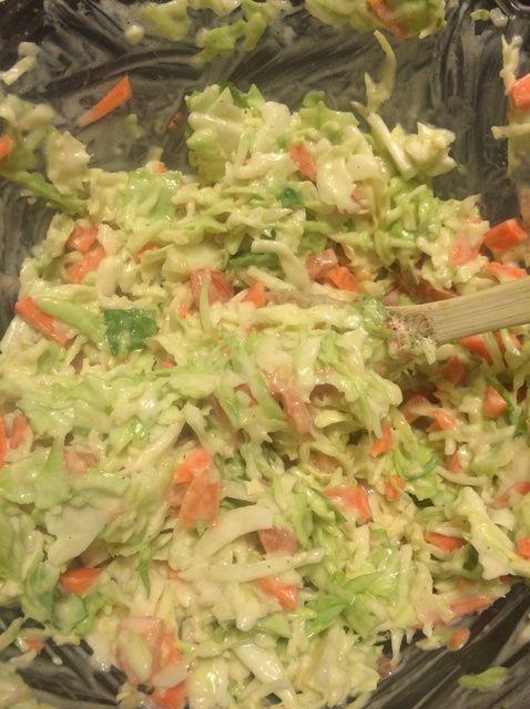 Cómo hacer ensalada de col Receta