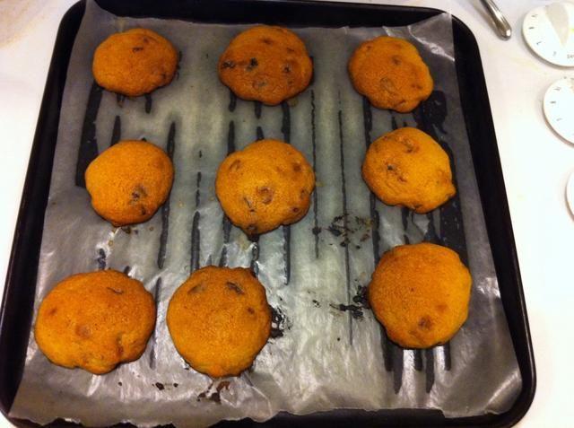 Sacar del horno y dejar enfriar durante 5 minutos.