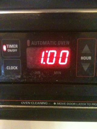 Temporizador Ajuste una hora y usted're done! Now just wait!