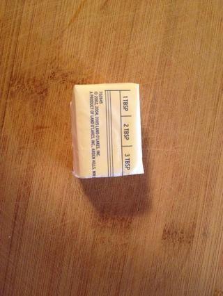 3 cucharadas de mantequilla