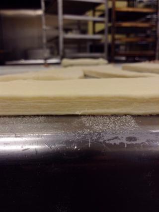 Todas las capas de masa y la mantequilla! Todo ese trabajo duro pagado apagado (: