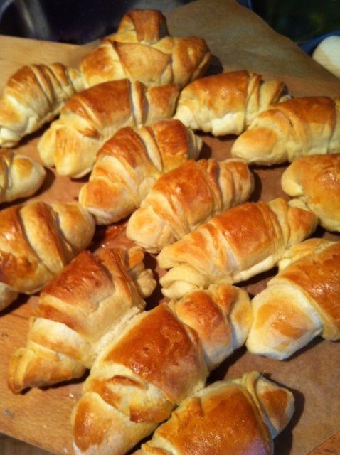 Cómo hacer croissants rápidamente Receta