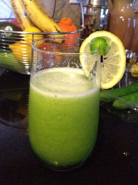Cómo hacer Pepino Limón Miel sana Bebida Receta