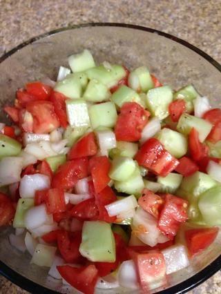 Añadir sal pimienta si lo desea