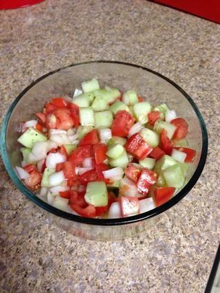 Disfrute de una ensalada fácil !!