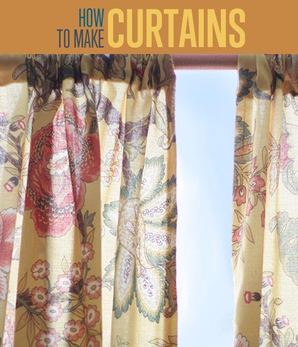 Fotografía - Cómo hacer cortinas | Ideas de cortina de bricolaje