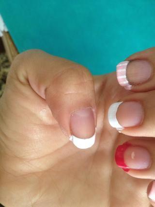 La voluntad de uñas se ve así