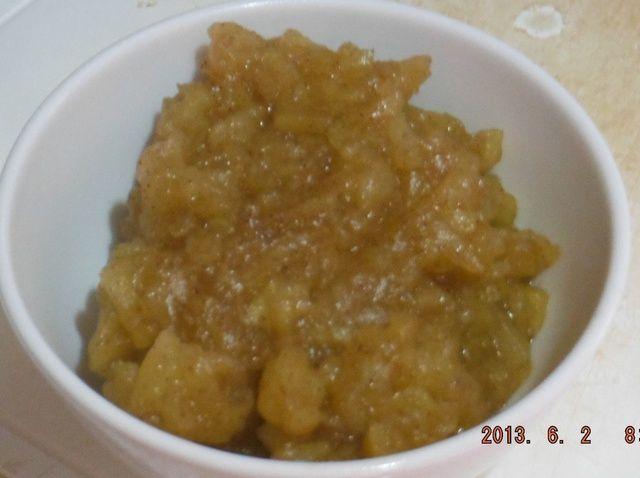 Cómo hacer delicioso puré de manzana Receta