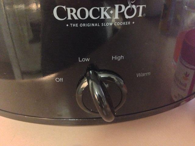 Cocine en la olla a fuego lento durante 6-8 horas.