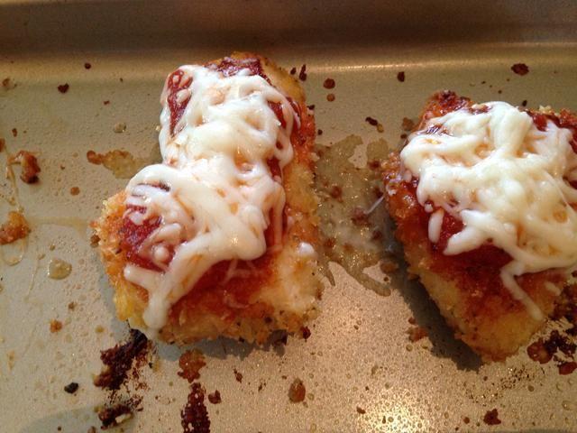 Y hornear hasta que el queso se derrita!
