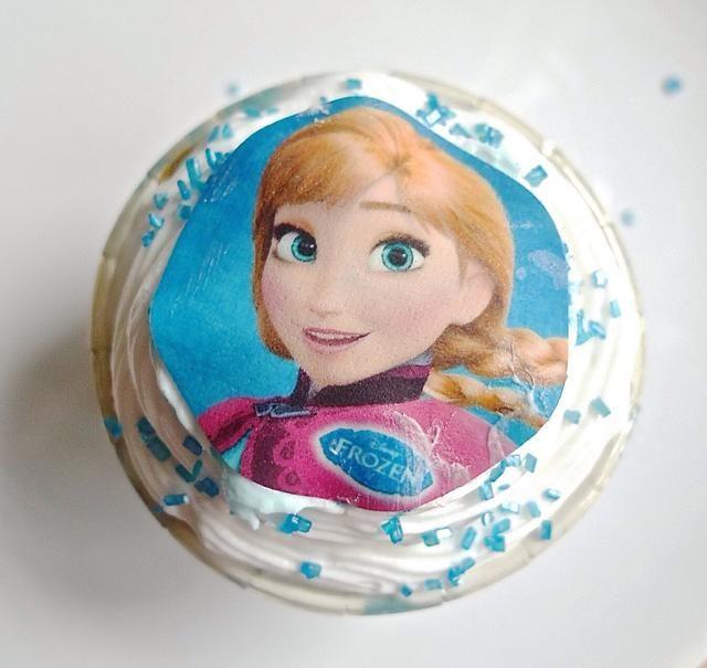 Utilice diferentes diseños de los cupcakes.