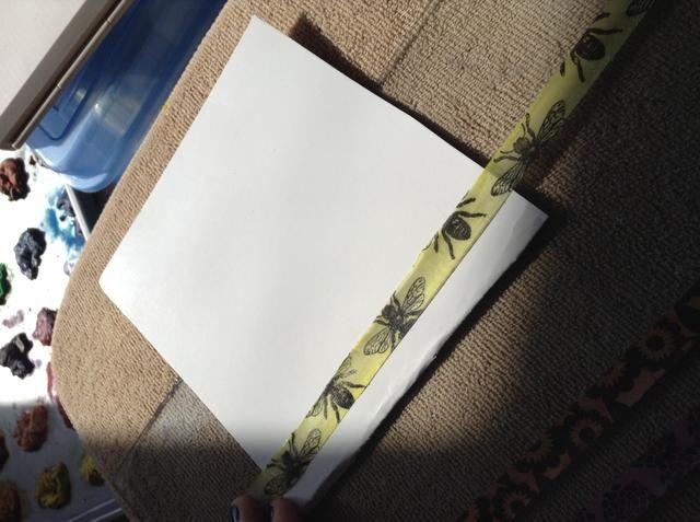 Ahora puede usar su propia cinta donde quiera que usted desee! En las tarjetas de felicitación, las revistas de arte, etc. (:! Gracias por ver ??????