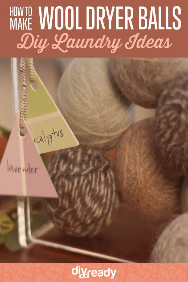 Fotografía - Cómo hacer bolas de secado de lana de bricolaje