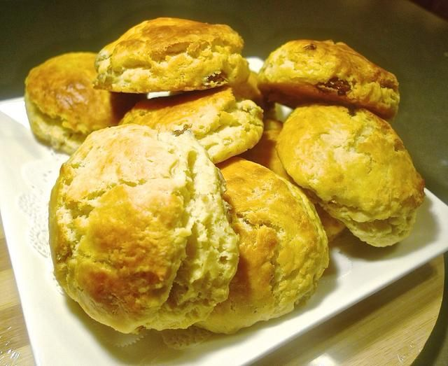 Y tú're done! These earl grey infused tea scones can be stored at room temperature for a few days.