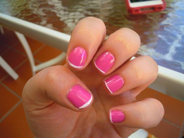 Sus uñas deben tener este aspecto.