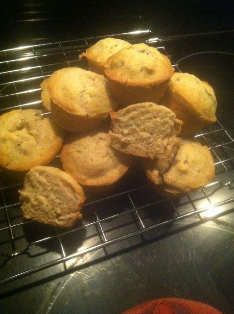 Cómo hacer fácil y deliciosa de plátano-Nut Muffins Receta