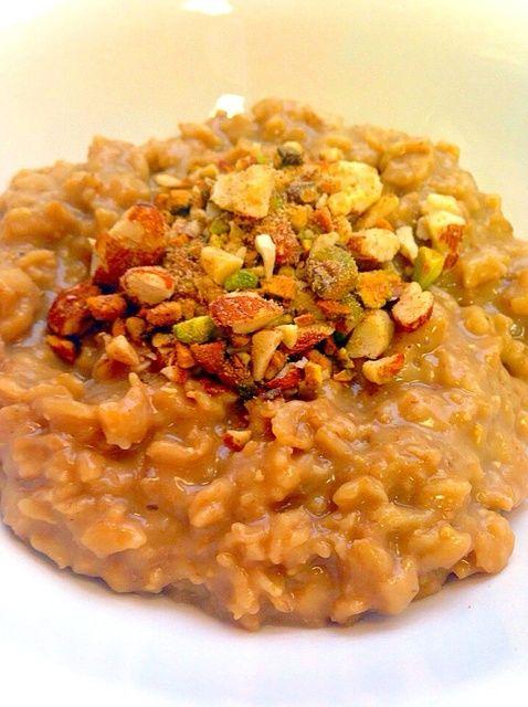 Cómo hacer fácil Desayunos: vegano Nutty avena Receta