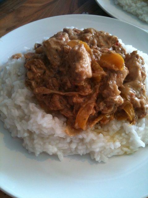 Cómo hacer fácil Pollo Satay Receta