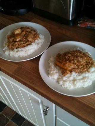 Servir con tu tipo favorito de arroz y ...