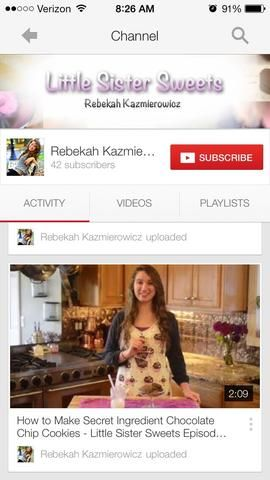 Don't forget to check out my YouTube channel, just search Rebekah Kazmierowicz, or click the link in my bio! Have fun baking guys!! �� xoxoxo -Rikki