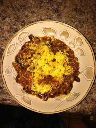 Añadir un poco de queso cheddar rallado si te gusta!
