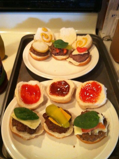 Cómo hacer fácil Gourmet Sliders Receta