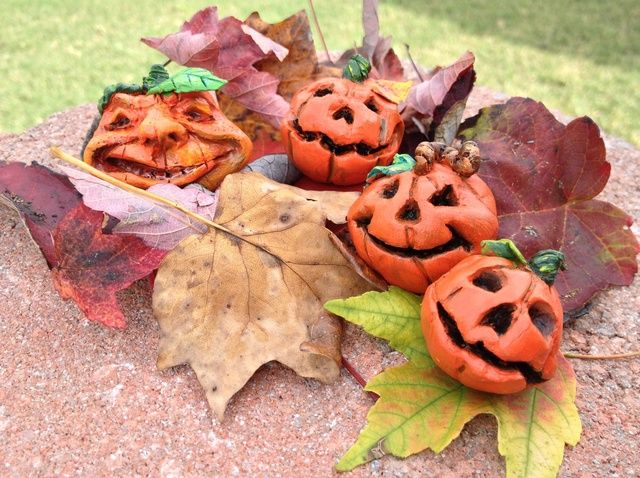 Cómo hacer calabazas de Halloween Fácil