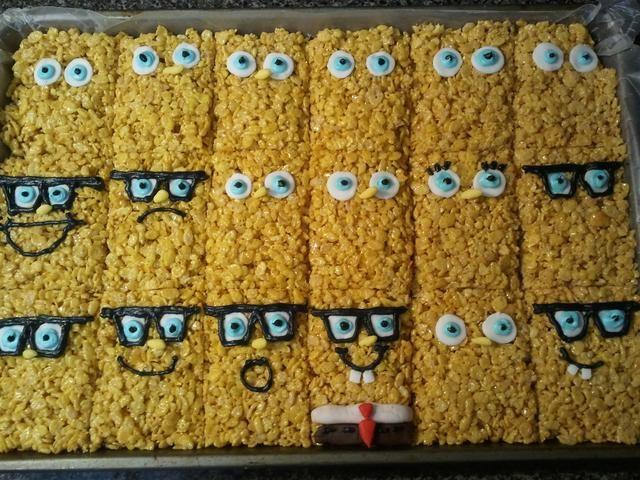 Se utiliza para hacer caras en algunos Rice Krispies sponepgebob