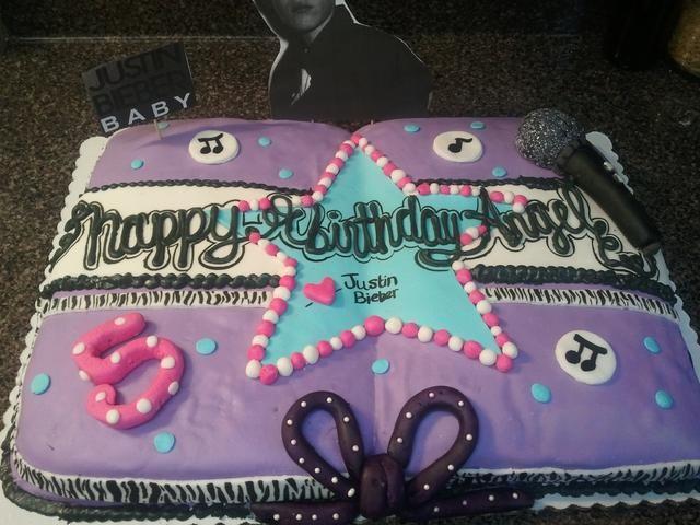 Torta Sólo bieber