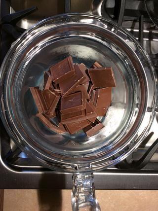 Mmm, chocolate con leche! Usted puede utilizar chocolate negro también!