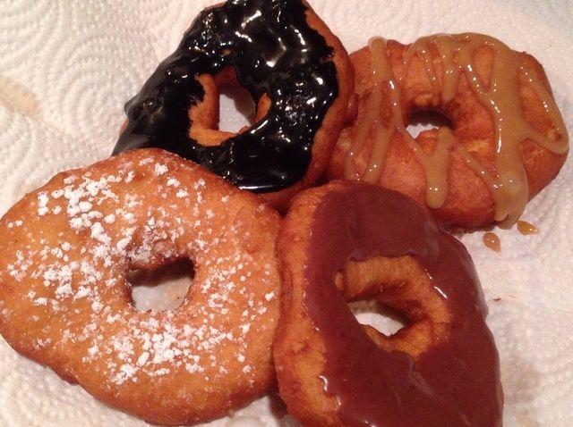Cómo hacer Easy Peasy Decadent Donuts Receta