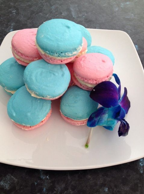 Cómo hacer fácil Vanilla Rose Macarons Receta