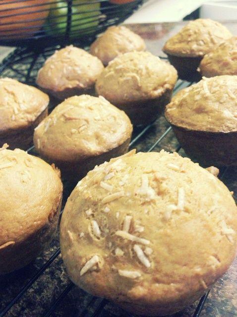 Cómo hacer Eggless naranja-zanahoria coco Muffins Receta