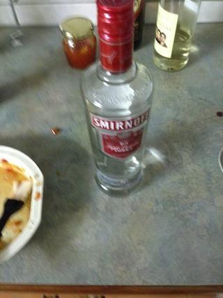 Toma un poco de vodka