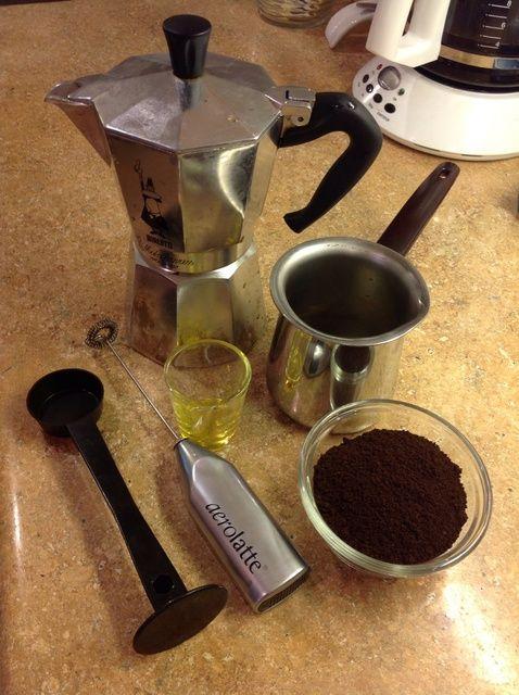 Cómo hacer Espresso en un quemadores. Receta