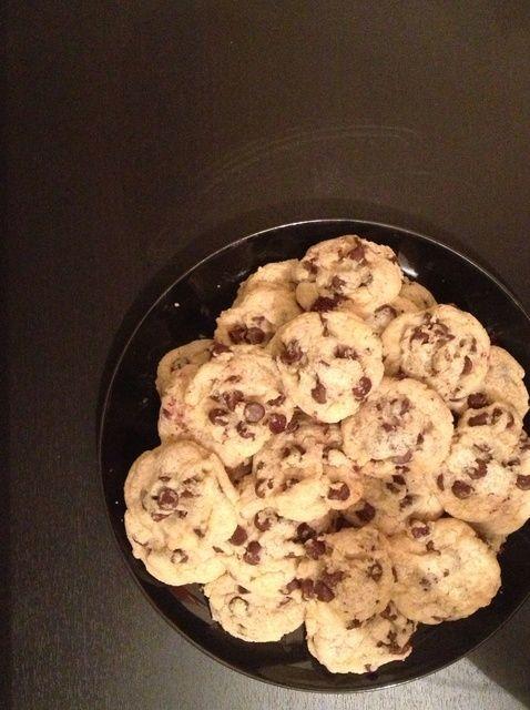 Cómo hacer que la grasa del chocolate Chip Cookies Receta